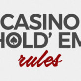 Be Ready For The Ultimate Casino Hold'em Side Event